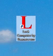 Lock Windows Computer from Command Line or Desktop Shortcut