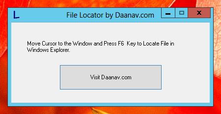 Free File Locator Utility by Daanav