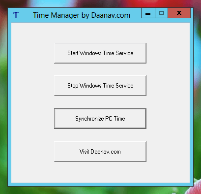 Free Windows Time Manager Utility by Daanav Softwares