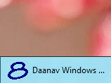 Taskbar Pinned Application Running on Windows 8
