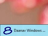 Taskbar Pinned Application Running on Windows 8