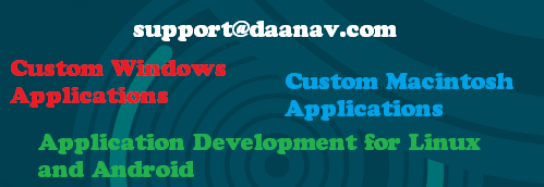Software Development Services for Big and Small projects for Windows, Macintosh, Linux and Android