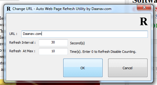 Auto Web Page Refresh Software