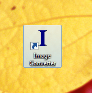 Desktop Shortcut of Image Converter