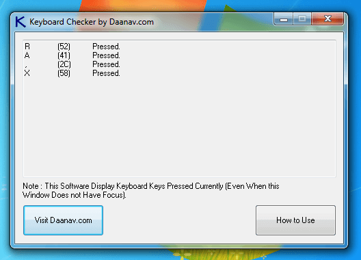 Keyboard Checker for Windows