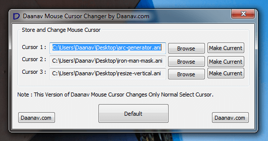 Mouse Cursor Software