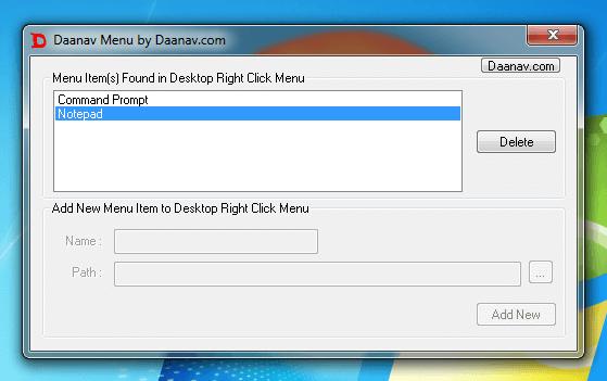 Screenshot Displays Desktop Menu Software After Free Trial