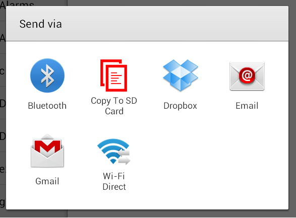 Copy File to SD or Memory Card on Android