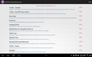 Hindi Movies App for Android