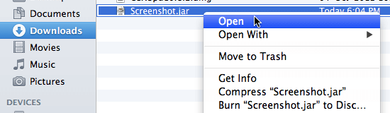 Screenshot Software on Apple Macintosh