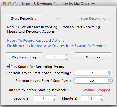 Mac Keyboard Recorder Macro Software