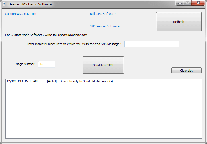 SMS Software for Windows