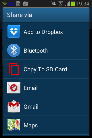how to delete files on sd card android