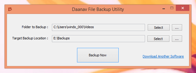 Free File Backup Software for Windows 8, Windows 7, etc