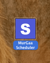 Mac Task Scheduler Application Icon in Finder