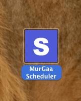 Mac Task Scheduler Application Icon in Finder