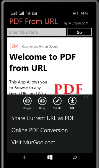 PDF From URL