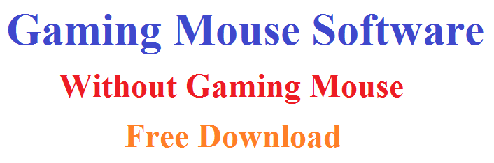 Gaming Mouse Alternative