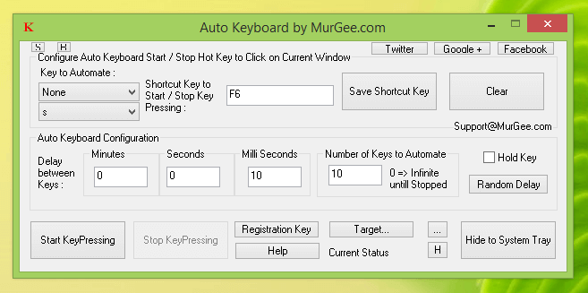Auto Keyboard - the Key Presser