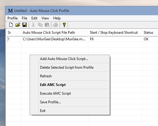 Manage Multiple Scripts with Profile Manager