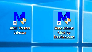 Auto Mouse Click Desktop Shortcuts