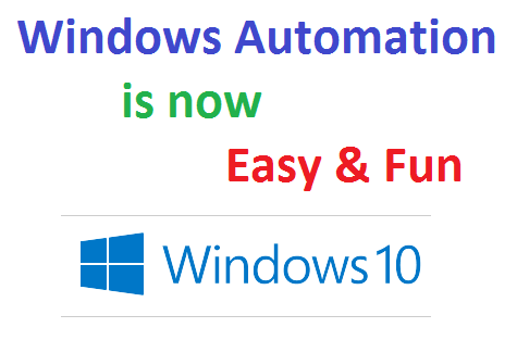 Automate Repetitive Tasks on Windows