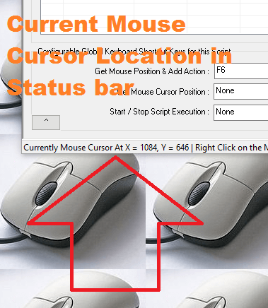 Automatic Screen Co-Ordinates in Mouse Clicking Software