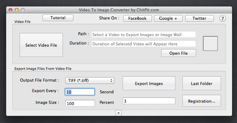 Video to Image and Image Sequence Converter for Mac OSX