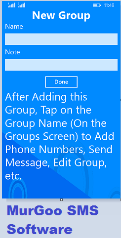 Bulk SMS Software for Windows Phone